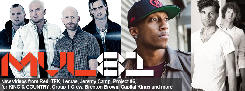 New Music Videos from Lecrae, Red, for KING & COUNTRY and more