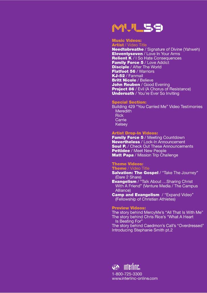 interlínc: Resources: Music Video Loop